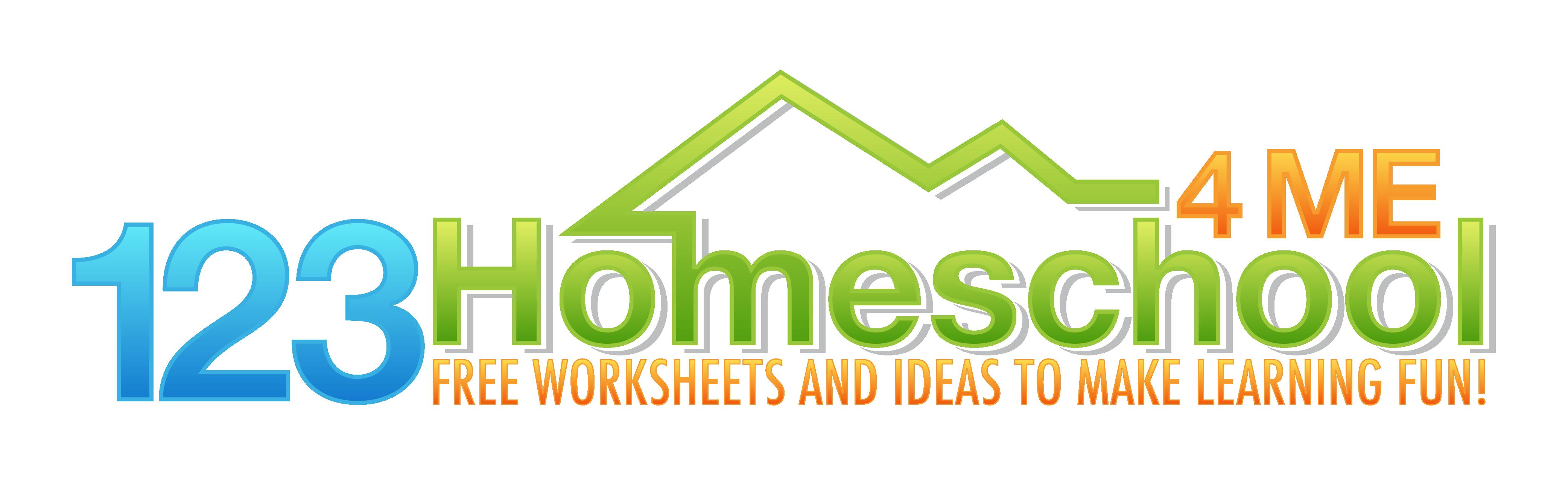 123 Homeschool 4 Me Free Worksheets Activities For K12