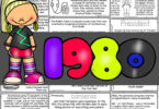 Explore the Eighties American History for Kidsas they color and learn about 1980s for kids: big hair, walkman, Rubik's cube, video and more.