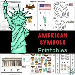 american symbols for kids
