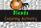 Practice initial blends with these fun, engaging blends worksheets where children will color the bugs by blend. FREE blending sounds activity.