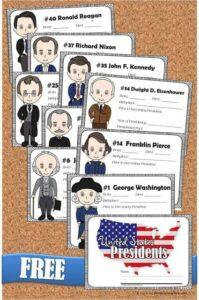 presidents for kids