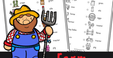 Explore the farm with a printable Farm Scavenger Hunt for kids. Children will look for animals, tarctors, & more with this fun farm activity.