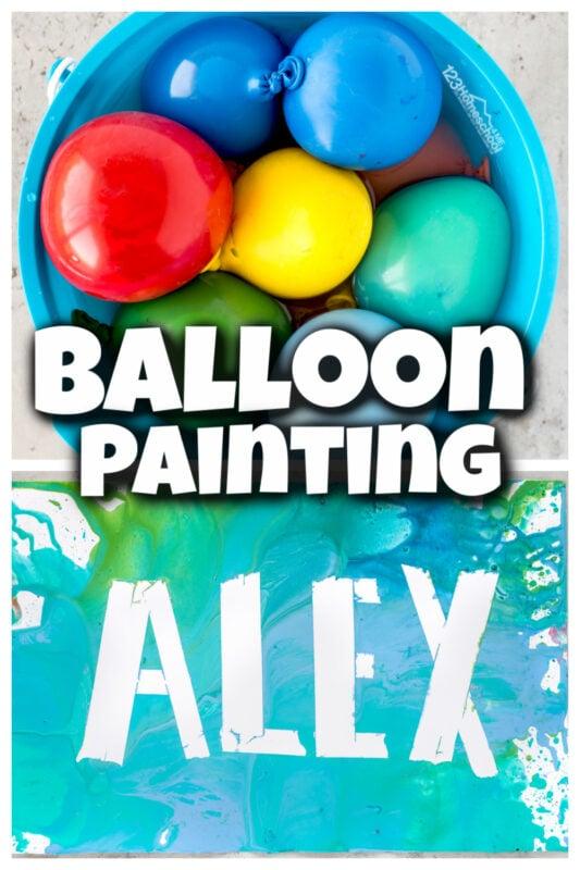 Balloon Paint Art