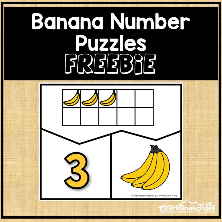 Banana Number Puzzles - Square