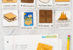 Kids will have fun practing forming sentences with this super cute, smores themed, complete sentence game. This free printable complete sentences gameis perfect for first grade and 2nd graders who are learning to form a proper sentece with a capital letter, punctuation, noun and verbs. Simply grab the pdf file withsentence building games and you are ready to play and learn with asentence game.