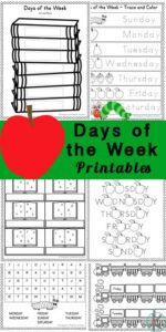 Days-of-the-Week-Worksheets