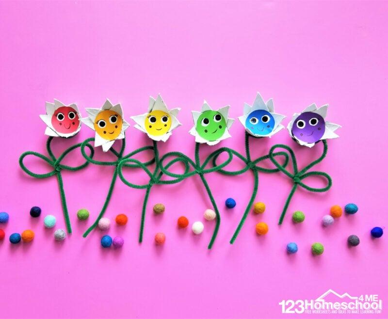 Flower Craft for Kids