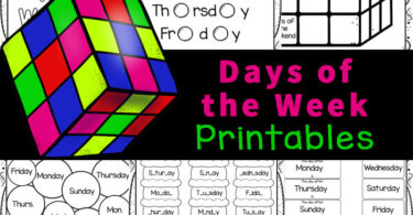 These days of the week worksheet pack is a great way to work on reading and writing skills while learning about the days of the week and their abbreviation. Use these days of the week printables as part of a days of the week study, centers, suppelment, extra practice, and more. Thisdays of the week worksheets for kindergarten, preschool, pre-k, and first graders are NO PREP. Simply print the days of the week printables pdf file and you are ready to play and learn.