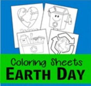 earth day coloring pages thumbnail