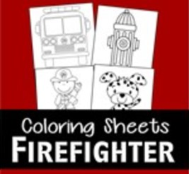 firefighter coloring pages thumbnail