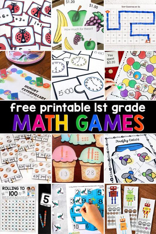 First Grade MathGames