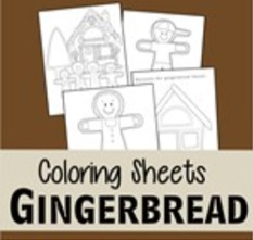 gingerbread coloring pages thumbnail