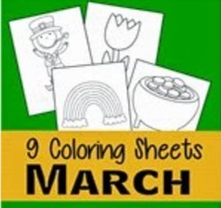 march coloring pages thumbnail