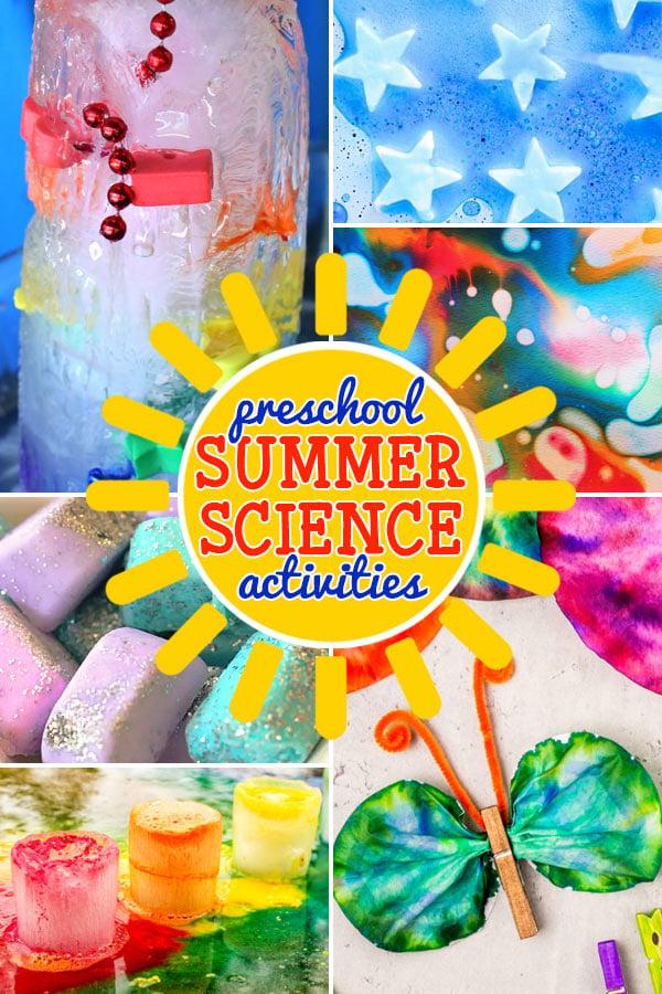 preschool summer science activities