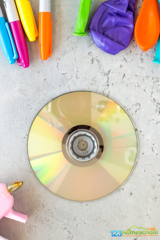 stem activity with cd disc