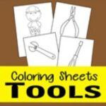 tool coloring pages thumbnail