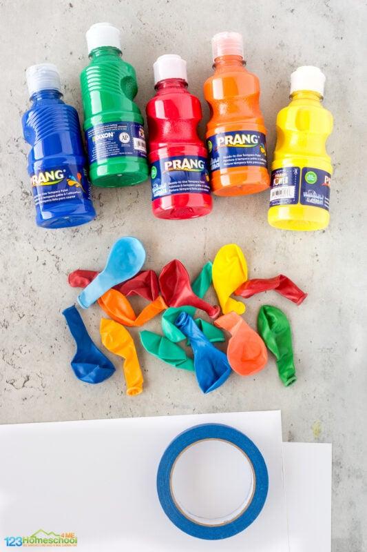 water balloon activity for preschoolers