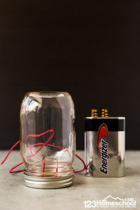 Light Bulb Science Project