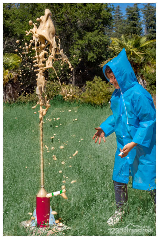 mentos and soda science experiment