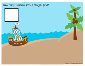 pirate counting mats