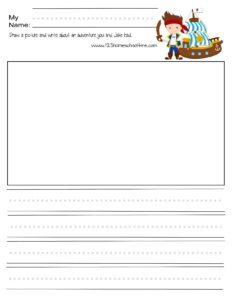 pirate creative writing prompt