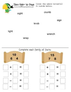 pirate kindergarten worksheet
