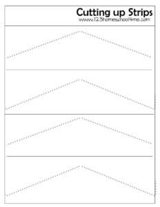 preschool scissors practice sheets