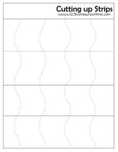 scissor worksheets