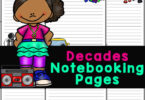 U.S. history worksheets are handy American history for kids by decade. 4 choices of Notebooking Pages inAmerican History Worksheets!