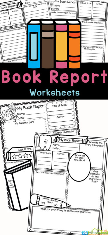 Make sure kids are understanding what they read with these free book reports. This 3rd grade book report is super handy, as it is no-prep and works with any book. Use this book report template to ensure readers are understanding what they are reading. Thesebook report form has many spots for children from second grade, third grade, fourth grade, and fifth graders to write down information about the book including the title, author, setting, main characters and the ending. Simply print the free book report templates and you are ready to go!