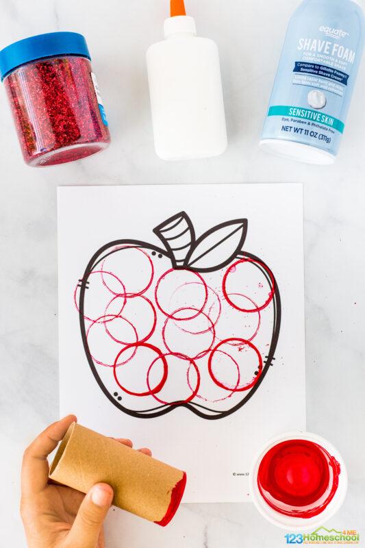 Apple Art and Craft