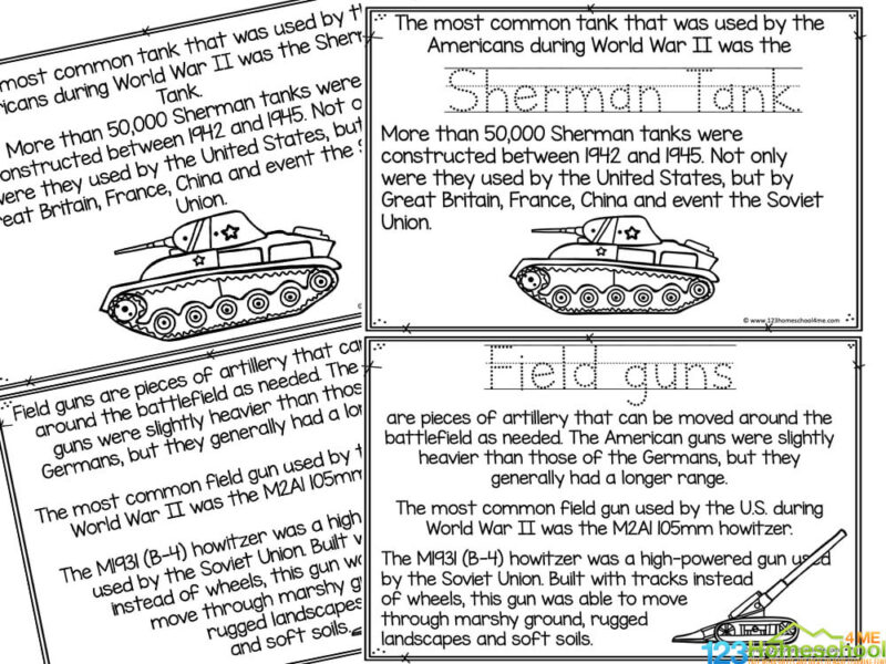 Facts about WW2 for kids
