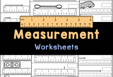 Practice using a ruler with these handy, free printable, measurement worksheets for kindergarten students using inches.