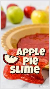 apple pie slime activity