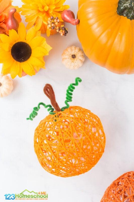 Craft Pumpkin Ideas