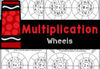 Multiplication wheels are a fun way to practice how to multiply 1-20 with elementary students using handy, no prep math worksheets.