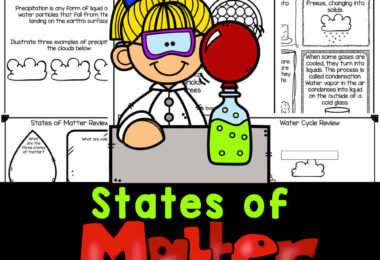Grab these states of matter worksheets to learn about solids, liquids, and gases with no-prep printables. Perfect science for kids!