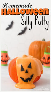This quick and easyhomemade silly puttyrecipe is perfect to fill your October with funpumpkin activities. For thisdiy silly putty all you need are a few common materials to make this outrageously fun play recipe. Use thishalloween activities for kids from toddler, preschool, pre-k, kindergarten, first grade, and 2nd grade as part of apumpkin theme orhalloween theme.