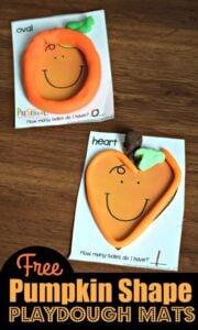 pumpkin shapes activity