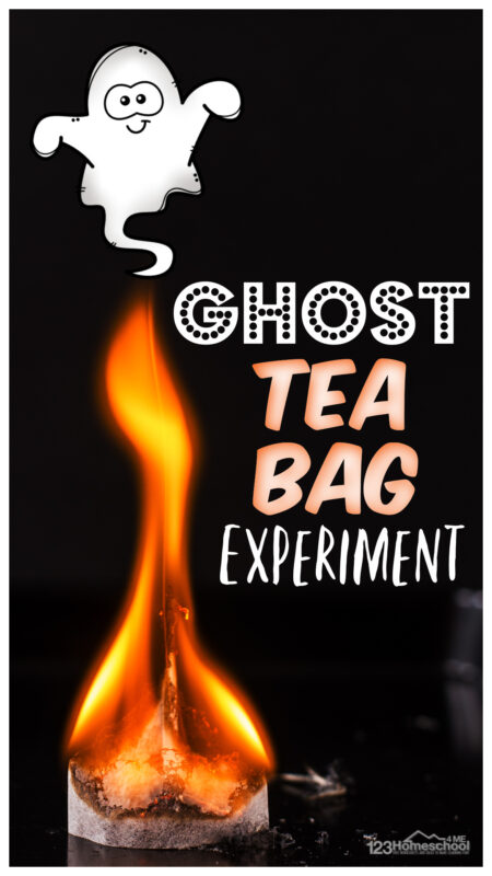 Looking for aspooky science experiment? Kids of all ages will be mesmorized by thisflying ghost science experiment! Besides having fun with a clever halloween science experiment, studnets will be learning about how hot air rises. Try thishalloween activity for kidsof all ages from toddler, preschool, pre-k, kindergarten, first grade, 2nd grade, and 3rd graders too.