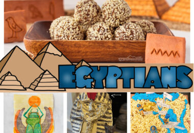 Explore the fascinating history ofancient egypt for kids with lots of information, hands-on projects, and clever activities to make history come alive. From ideas for building a pyramid, edible Egyptian map, making a game, exploring papyrus, and more! These Egypt activities for kids are perfect for all ages from preschool, pre-k, kindergarten, first grade, 2nd grade, 3rd grade, 4th grade, 5th garde, 6th grade, 7th grade, 8th grade, 9th garde, 10th garde, 11th grade, and even 12th graders too.