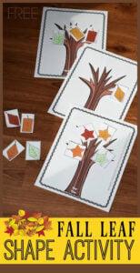 leaf sorting shape mats