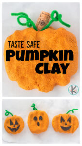 Kids will have fun rolling the dough to make pumpkins and Halloween Jack-o-Lanterns with thistaste safepumpkin clay! Thispumpkin playdoughis perfect for October, harvest, fall, andpumpkin activities! Thispumpkin play dough recipe is perfect for toddler, preschool, pre-k, kindergarten, first grade, and 2nd graders.