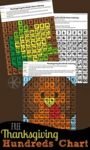 color-by-hundreds-chart-Thanksgiving-Math-Worksheets-2