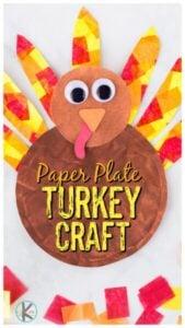 paper plate turkey craft ideas