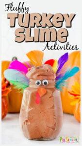 turkey-slime thanksgiving activities