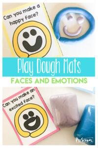 emotion playdough mats