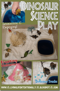 dinosaur science play