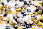 EASY Blueberry Breakfast Casserole